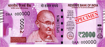 RBI 2000 Notes