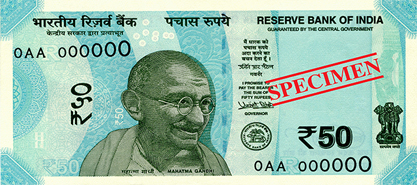 RBI 50 Notes