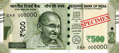 RBI 500 Notes